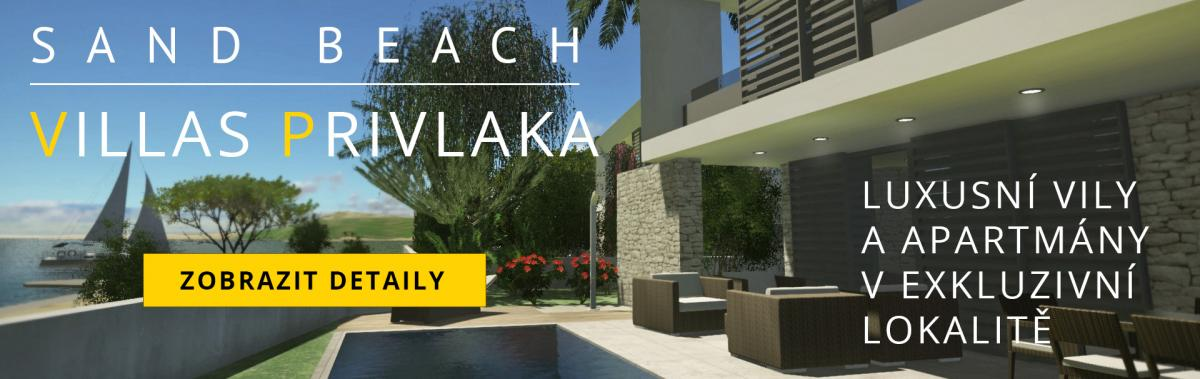 sand beach villas privlaka